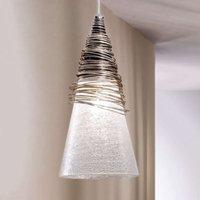 Beautifully shaped hanging light SIBERIA