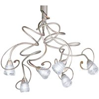 Stylish hanging light Medusa  6 bulb