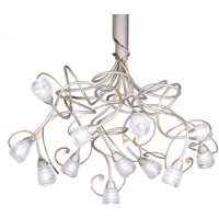 Stylish hanging light Medusa  12 bulb