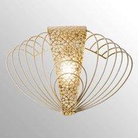 Marrakech gold plated wall light