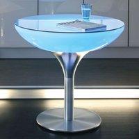 Multicoloured light Lounge Table LED Pro 75 cm