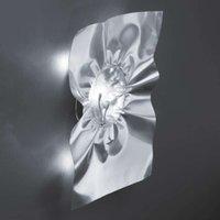 Stropiccio   wall light  silver  H 60 cm