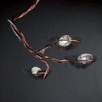 Three bulb Nido hanging light  copper