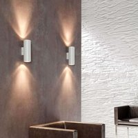 Wall light Kronn  up  and downlight  white