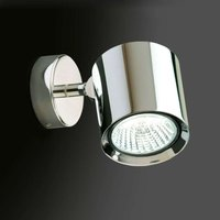 Kronn   pivotable wall light  chrome