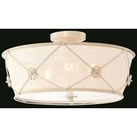 Lea   decorative ceiling light made of organza