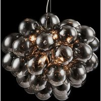 Balbo pendant light in smoky grey
