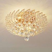 Karolina crystal ceiling lamp diameter 41 cm