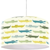 Kroko children s hanging light  colourful motif