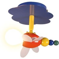 Playful ceiling light Fly  1 bulb