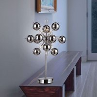 Special table lamp Wakusei  chrome