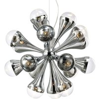 Playful hanging light FALLING DROPS  12 bulbs