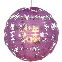 Spherical hanging light YOUNG LIVING  purple