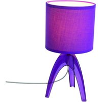 Trendy table lamp Ufolino  violet