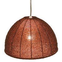 Pearl hanging light brown