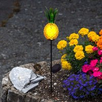 Pineapple LED solar decorative light