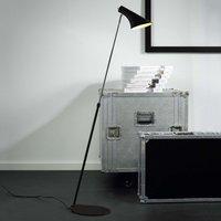 Elegant flexible floor lamp Liam black
