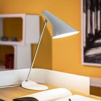 Trendy table lamp Liam white