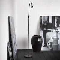 Adjustable LED floor lamp Mento  black