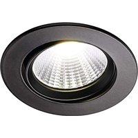 LED recessed ceiling light Fremont 2 700 K  black
