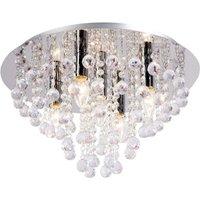 Glamorous ceiling light Linden  5 bulb