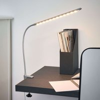 Bright clip on LED lamp Anka with flex arm
