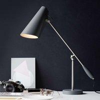 Retro table lamp Birdy  grey