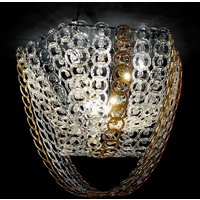 Circus ceiling light with chain decor