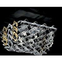 Murano glass ceiling light Quadrus