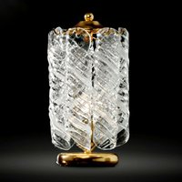 24 carat gold plated bedside table lamp Molle