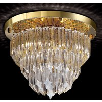 Round ceiling light Archimede gold plated
