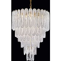 Impressive chandelier Pini made of Murano glass
