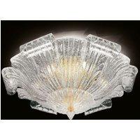 Murano glass ceiling light Tartaruga  80 cm