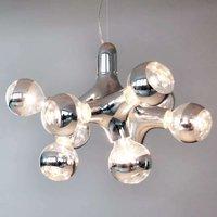 next DNA Chandelier   designer chandelier  chrome