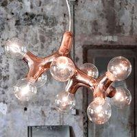 next DNA 0 1 2   designer pendant light  copper