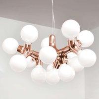 next DNA Chandelier XL   chandelier in copper