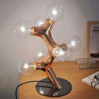 next DNA Table   designer table lamp  copper