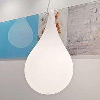next Drop 2 Small hanging lamp teardrop form 27 cm