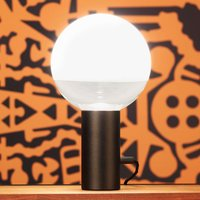 Kuula   a table lamp with a rotary dimmer  black