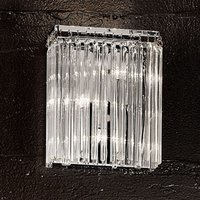 Future Wall Light with Glass Rods Sparkling