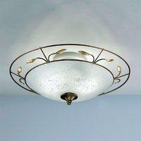 Regine ceiling light with Scavo glass