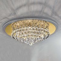 Tuila Crystal Ceiling Light Expressive 62 cm