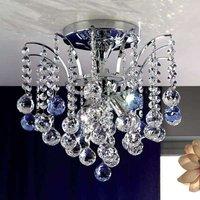 Lennarda Crystal Ceiling Light Sparkling 42 cm