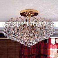 Lennarda Ceiling Light Elegant Gold Plated