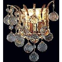Lennarda Crystal Wall Light Gold