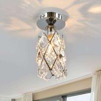 Charlene Ceiling Light Narrow Chrome Plated