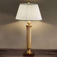 Janni Floor Lamp Charming Warm Gold Tone