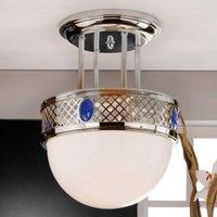 Alt Wien Ceiling Light Art Nouveau Flair Nickel