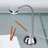 Colin LED Table Light Nickel Satined
