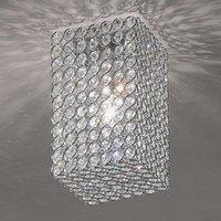 Amaja Crystal Ceiling Light Cuboid